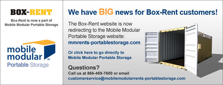 Mobile Modular Portable Storage